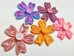 tutorial quilling flower two toned heart shape quilling flower tutorial