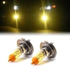 yellow xenon h7 fog light bulbs to fit vw polo models ebay