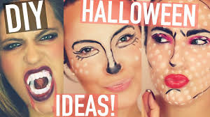 Easy Halloween Makeup Tutorials by Last Minute Halloween Makeup Tutorials Quick Easy Youtube