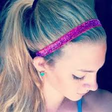 headband ponytail headbands scarfs and barrettes are a few items that can be used