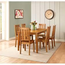 better homes and gardens bankston dining table honey walmart com