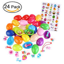 easter eggs filled with toys filled easter eggs ebay