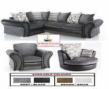 Swivel Cuddle Chair Corner Sofa Swivel Chair Ebay