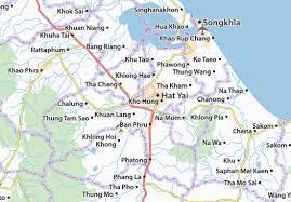 map of hat yai map of hat yai michelin hat yai map viamichelin