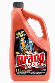 drano max gel clog remover 80 ounce ca health