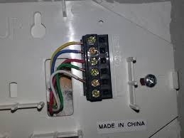 installing honeywell rth7500d thermostat u2013 doityourself