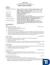 desktop support resume desktop support technician resume sle best computer repair