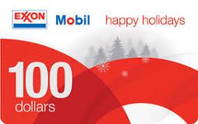 100 exxon mobil gift card slickdeals net