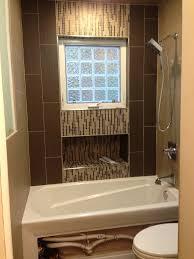 Bathroom Tile Border Ideas Bathroom Inspiring Bathroom Design Ideas With Brown Tile Border