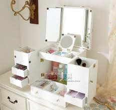 Cosmetic Cabinet Ofhead Mirror Cabinet Jewelry Cosmetic Storage Box Cabinet