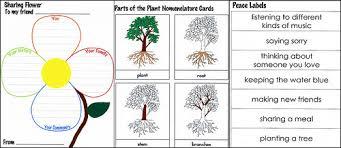 montessori tree printable montessori inspired friendship activities