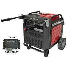 honda eu70is 7 0kva inverter generator with 2 wire auto start