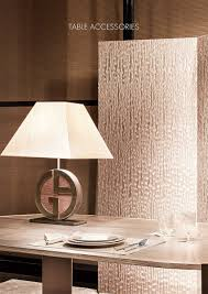 armani home interiors table accessories armani casa