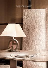 table accessories armani casa