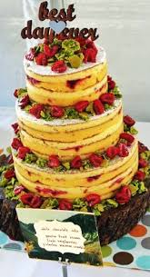 Wedding Cake No Icing Endless Selection Of Cakes Azúcar
