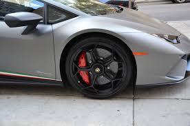 Lamborghini Huracan White Black Rims - 2018 lamborghini huracan lp 640 4 performante stock l407 for