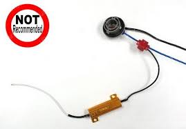 load resistors for led lights how to install load resistors for led turn signal lights