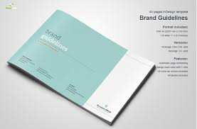 10 great beautiful brand book templates to present your branding