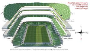 stadium floor plan seating map