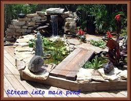 ponds and water gardens backyard getaway