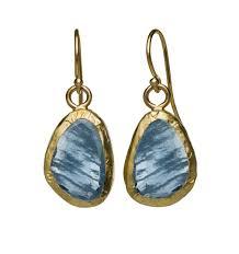 aquamarine earrings sheer aquamarine earrings nava zahavi