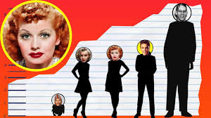 how tall is lucille ball height comparison youtube