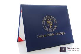 diploma cover judson bible college graduation diploma cover