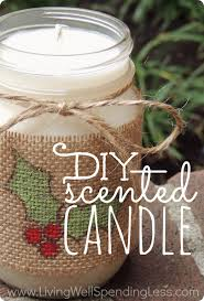 mason jar home decor ideas diy scented candle handmade gifts ideas scented candles