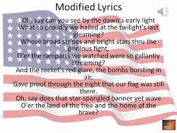 Star Light Star Bright Lyrics The Star Spangled Banner Ppt Online Download