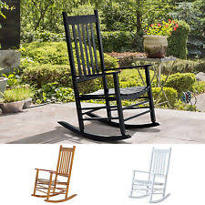 Outdoor Patio Rocking Chairs Porch Rocking Chair Ebay
