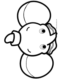 disney cuties coloring page free download
