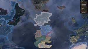 Map Of Westeros World by Westeros Political Map Image Hearts Of Ice And Fire Mod For
