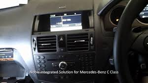 mercedes gps navigation system noble gps navigation and dvd loader for the mercedes c class
