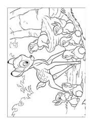 bambi coloring pages kids printable coloring 10