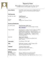Things To Write On A Resume How To Write An Resume For A Job How To Write Resumes For Jobs By