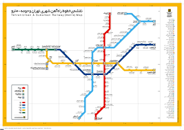 Santiago Metro Map by Tehran Metro Map Subways Undergrounds And Metro Maps
