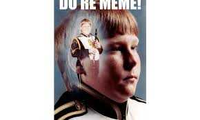 Drum Major Meme - do re memes for marching band halftime magazine