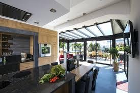 cuisine sous veranda cuisine veranda photos racalisation dune cuisine design haut de