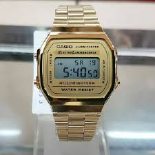 casio a168 casio a168 gold s fashion watches on carousell