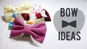 halloween bow ties 5 easy and cute diy fabric hair bow ideas how to decorate hair