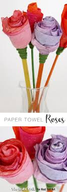 kitchen towel craft ideas paper towel roses towel paper paper towels and crafts