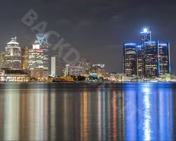 backdrop city detroit skyline backdrop backdrop city