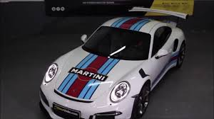 porsche racing colors tremendo porsche gt3 rs con franjas de vinilo martini racing youtube
