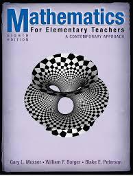 mathematics for elementary teachers national council of teachers