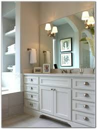 bathroom mirror cabinet with light and shaver point home benevola
