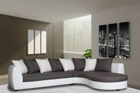 canapé d angle basika canapé d angle à droite haricot blanc gris taupe