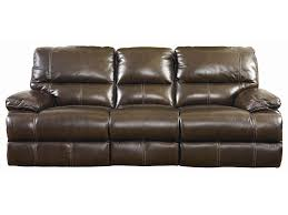 bassett dillon reclining sofa with padded arms darvin furniture