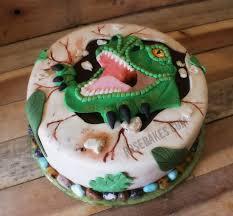 dinosaur cakes t rex dinosaur cake bakes
