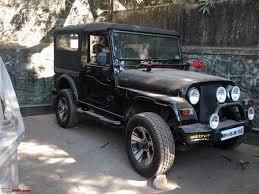 jeep modified black mahindra thar test drive u0026 review page 164 team bhp