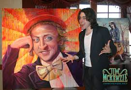 Funny Willy Wonka Memes - willy wonka acrylic on canvas jim mckenzie